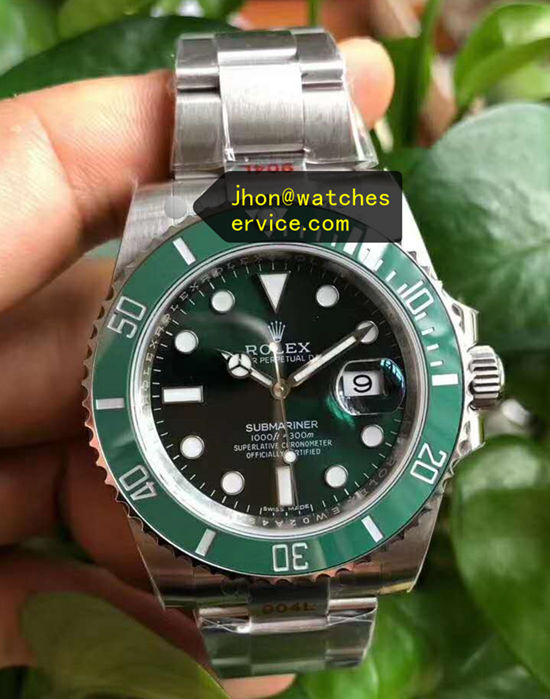 2020 Super N Rolex Submariner Hulk Green