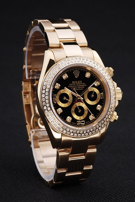 Rolex Daytona Diamond Bezel l167 Replica