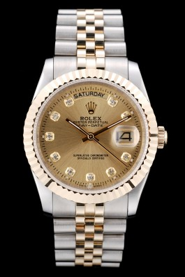 Champagne Face Rolex Day-Date Gold coating