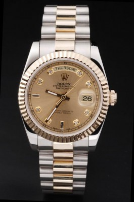Rolex Day Date Gold Steel 41mm