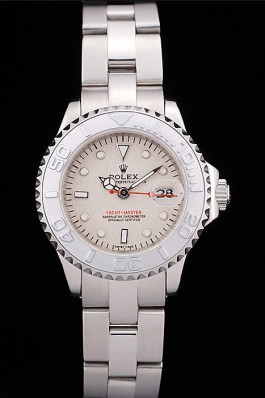 Lady Rolex Yacht-Master 29mm White 169622