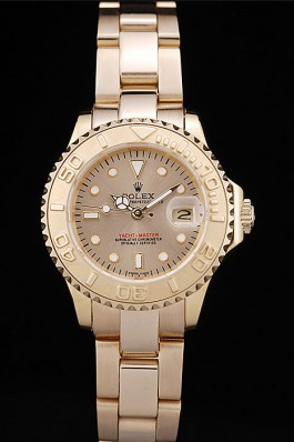 Lady Rolex Yacht-Master 29mm Gold 169628