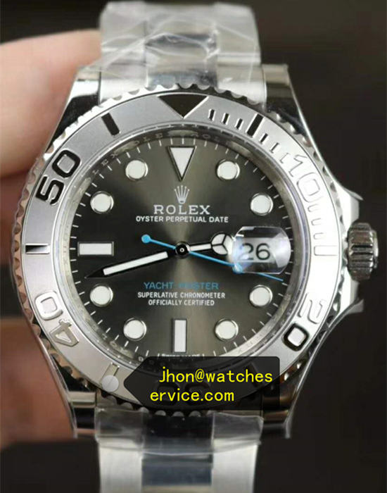 40MM Dark Grey Rolex Yacht-Master m126622-0001