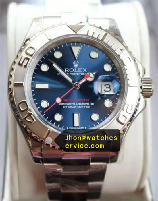 40MM Rolex Yacht-Master 116622 Blue
