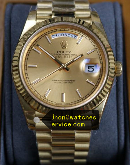 40mm 18K-Gold Rolex Day-Date m228238-0003