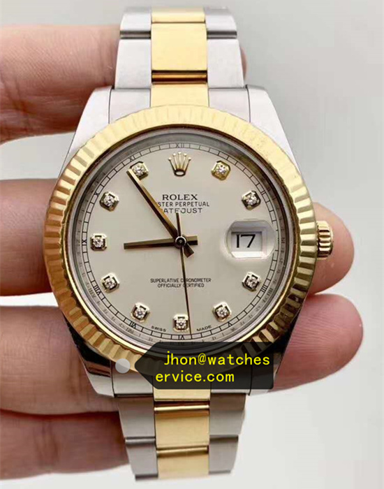 41MM 18ct-Gold With Steel Rolex Datejust m126333
