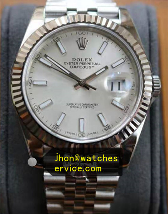 904L Steel 41MM Rolex Datejust m126334-0003