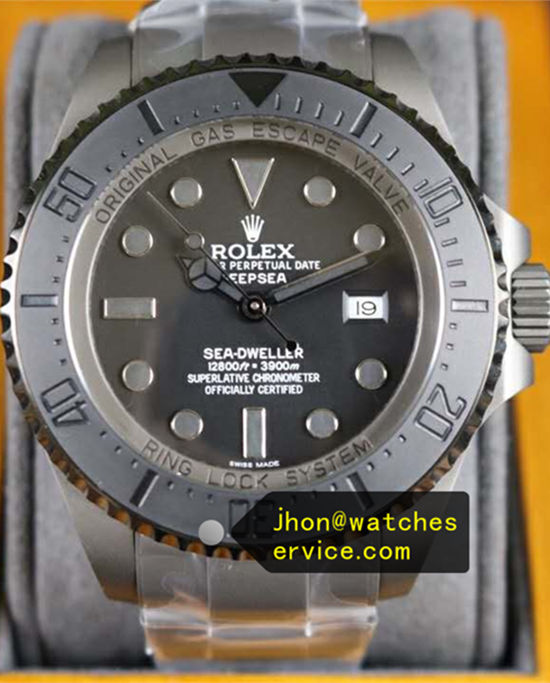 AR 43MM Rolex DeepSea PRO Gray Frosted Steel
