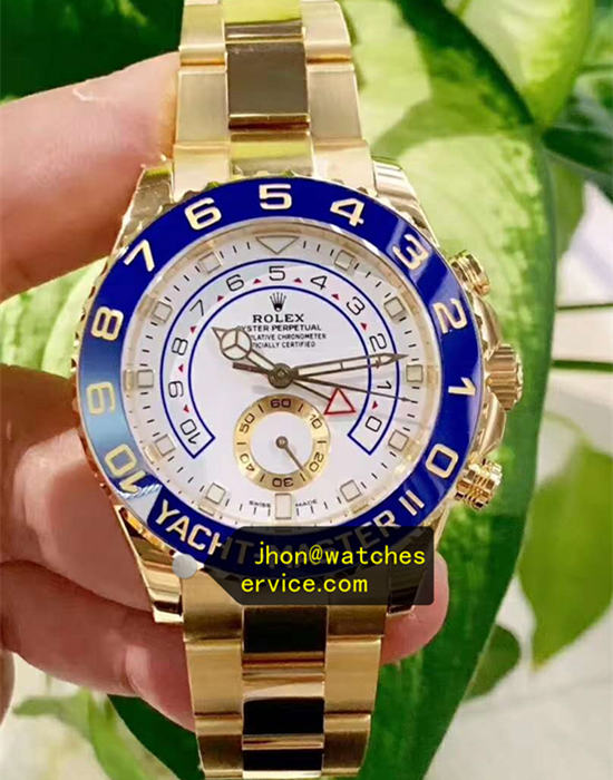 AR 44MM Yacht-Master m116688-0002 18CT-Gold