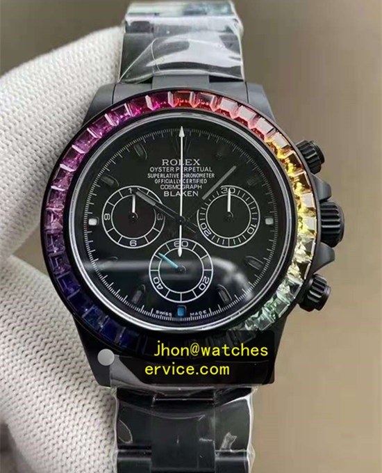 AR Blaken Rainbow Rolex Daytona The Best