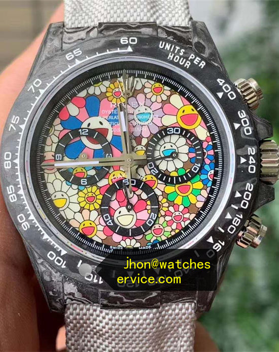 AR Fairy Tale World Modified Rolex Daytona Carbon Fiber
