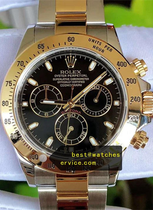 AR Rolex Daytona m116503-0004 18ct-Gold With 904L Steel