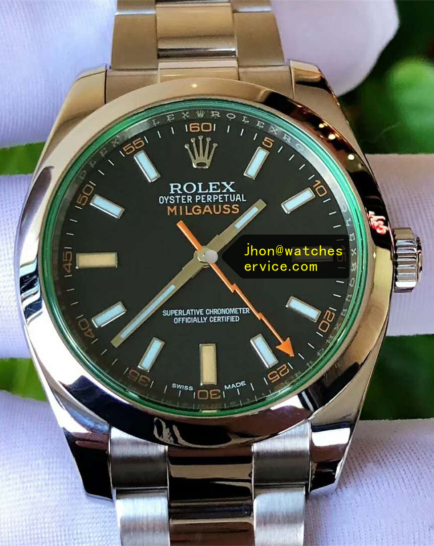 AR Rolex Milgauss 116400 Green Glass