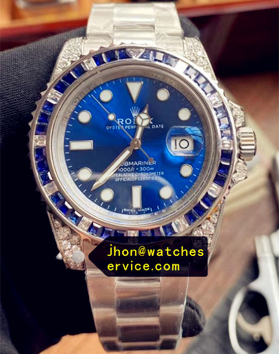 AR Rolex Submariner 116659 Blue Diamond Bezel