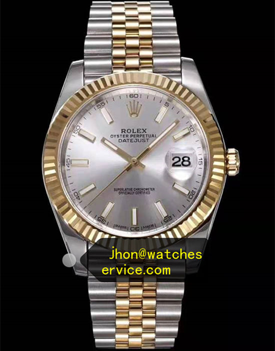 AR Silver Dial Rolex Datejust m126333-0002 Gold-Steel