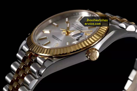AR Silver Dial Rolex Datejust m126333-0002 Gold-Steel replica watch