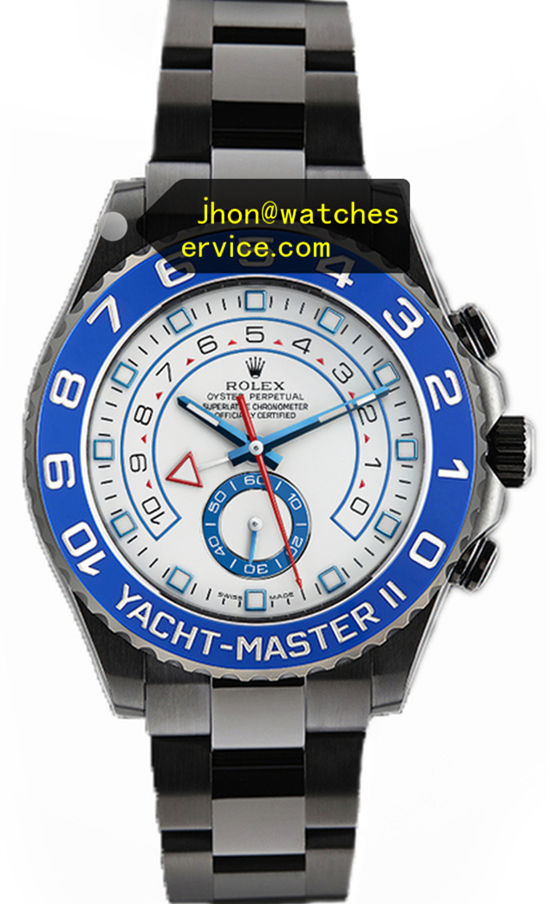 All Black PVD Rolex Yachtmaster 116680 44MM