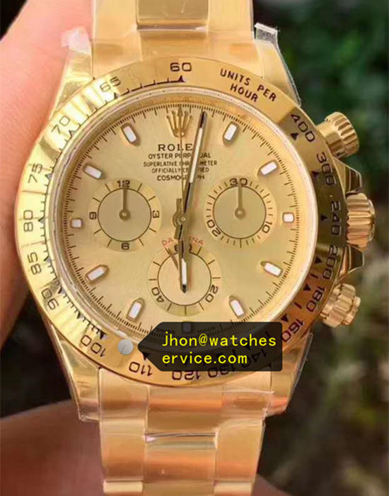 All Gold Rolex Daytona m116508-0003 AR Upgraded