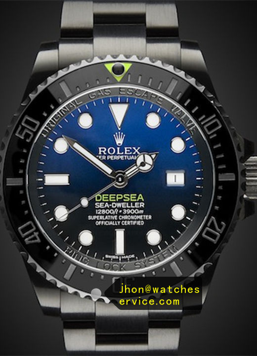Black PVD Rolex Deepsea D-Blue 44MM