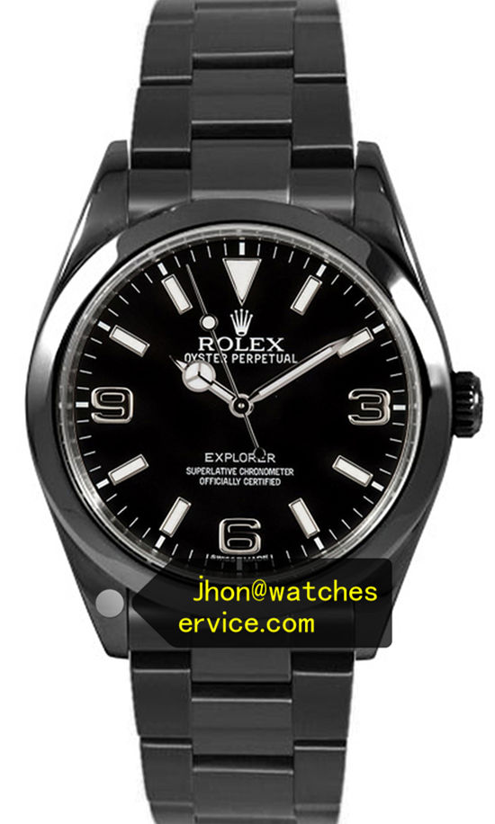Black PVD Rolex Explorer-I 214270-77200 39MM