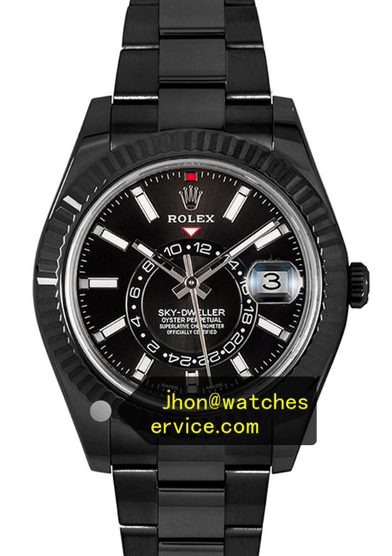 Black PVD Rolex Sky-Dweller m326934-0005 42MM