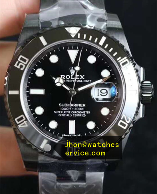 Black PVD Steel 116610LN Rolex Submariner