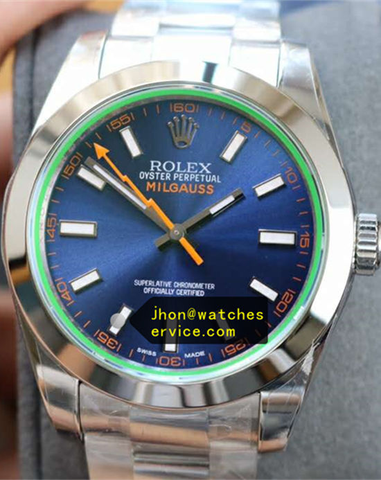 Blue Rolex Milgauss GV-72400 New Version