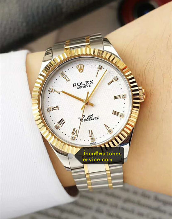 Cheap White Rolex Cellini Business