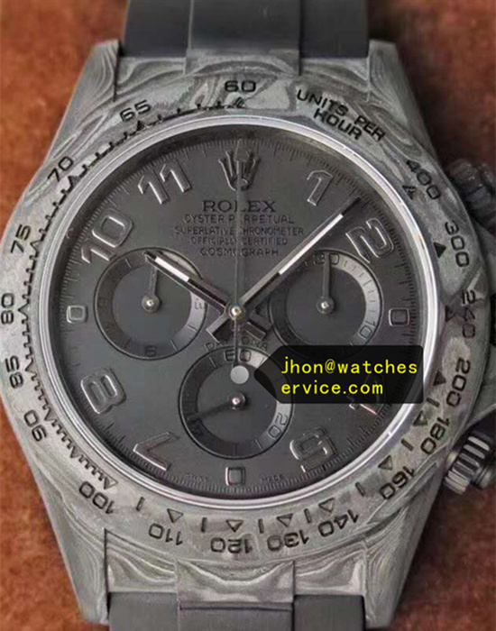 Limited Edition Gray Carbon Fiber Rolex Daytona
