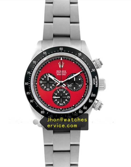N Rolex Daytona Paul Newman Red Face