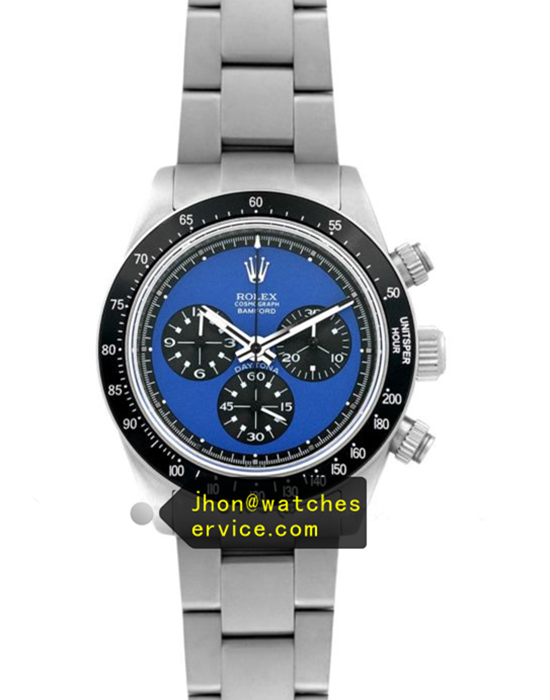 N Rolex Daytona Paul Newman Sea Blue