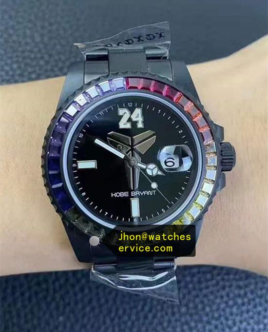 The Black Rolex 1 1 Replica Watches Black Pvd Rolex Blaken Version