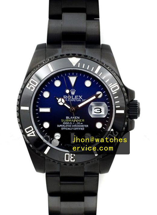 Rolex Blaken Submariner Black PVD Coating