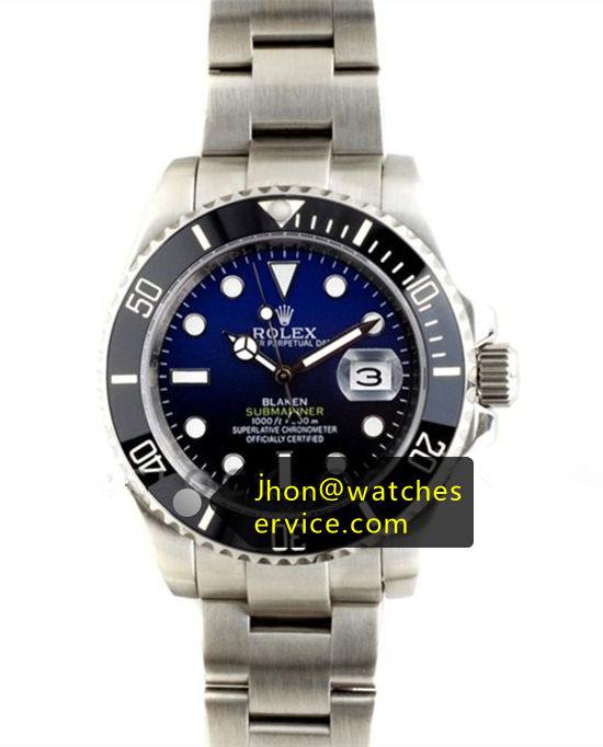 Rolex Blaken Submariner Steel