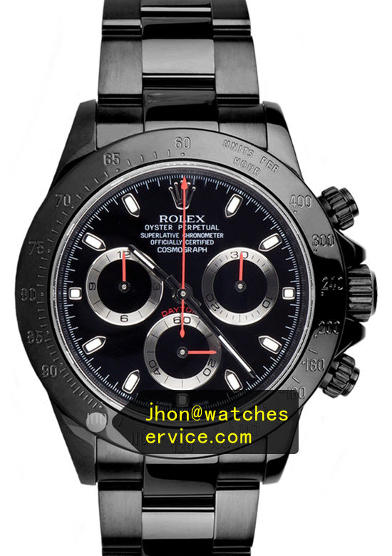 Rolex Daytona All Black PVD Version
