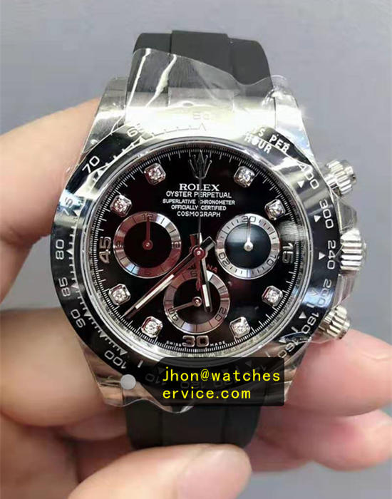 Rolex Daytona m116519ln-0025 Black Ceramic replica watch