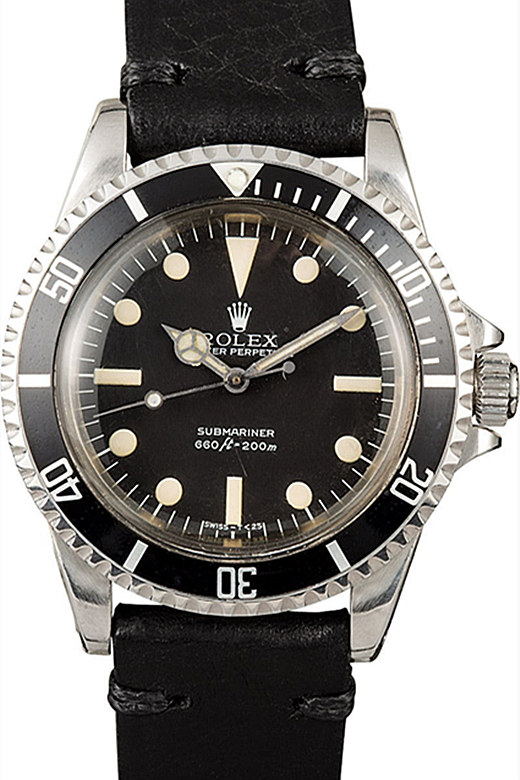 Vintage Black Rolex Submariner 116610LN 01A