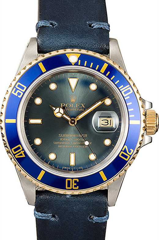 Vintage Blue Rolex Submariner 116610LN 02B