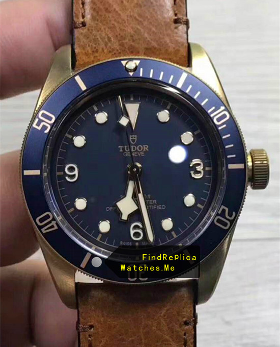 Tudor Black-BAY Bronze Watch Blue Face