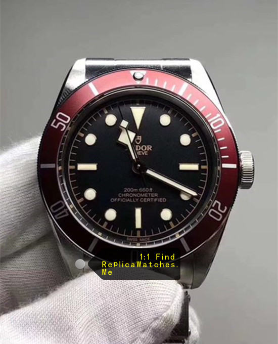 Tudor Black-BAY M79230R-0003 41MM Wine Red Bezel