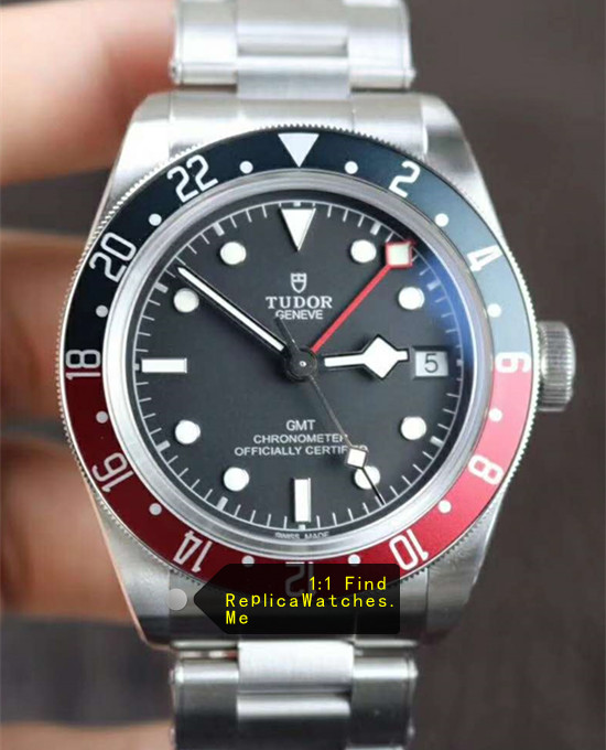 Tudor Black-BAY M79830RB-0001 Burgundy Blue Bezel With Black Face