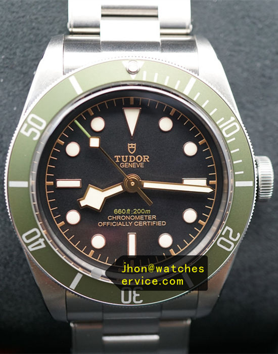 Green Harrods Tudor 79230G 41MM