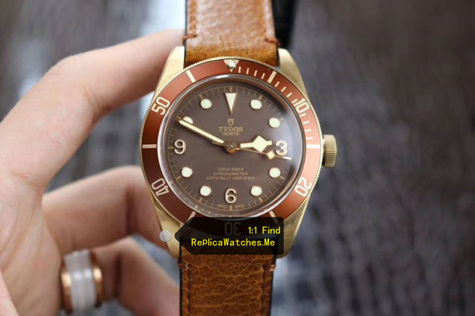 Replica Tudor Black-BAY M79250BM-0001 43MM Bronze Watch